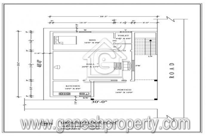 Floor Plan- Ground Floor